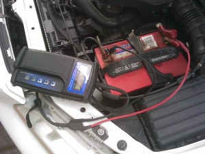 Checking the Battery and Alternator