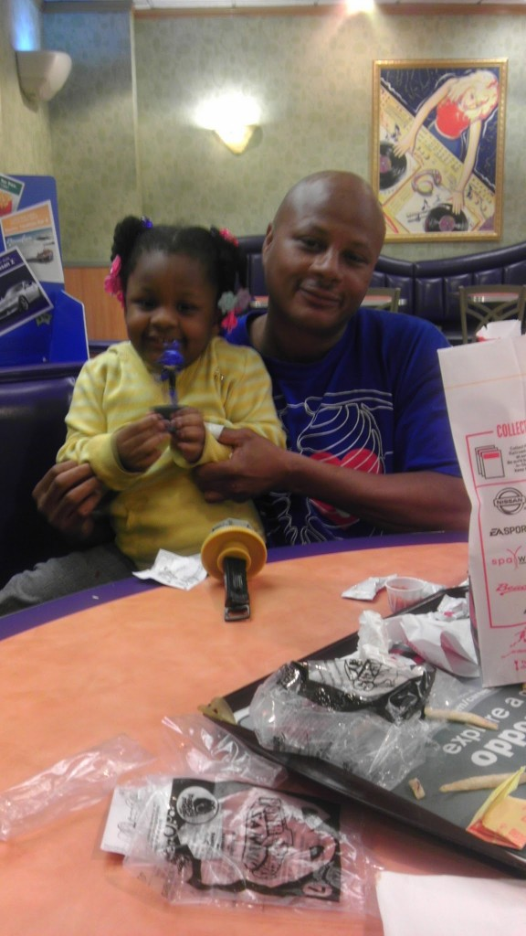 Happy Meals with the Homeless - Ricki and Maya in Chicago